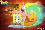 Игра Спанч Боб и Патрик скользят по волнам (Surfing Showdown SpongeBob Game)