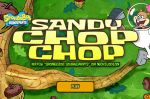 Игра Спанч Боб или Барсук каратист / Sandy Chop Chop SpongeBob Game