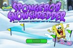 Игра Спач Боб катается по снегу (SnowShredder SpongeBob Game)