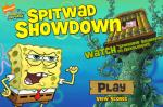 ����� ��� ���� ����������� � �������� (Spitwad Showdown SpongeBob Game)