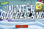 ���� ����� ��� ����� �� ������� ������ (Winter RUNderland SpongeBob Game)