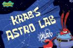 ���� ����� ��� �������� ������  (Krab's Astro Lab SpongeBob Game)