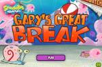 Игра Спанч Боб улитка и медузы (Gary's Great Break SpongeBob Game)