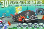 Игра Спанч Боб 3D гранд прикс гонка (GAMES SpongeBob 3D Powerkart Grand Pri ...