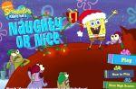 Спанч Боб игра новогодние приключение (Naughty or Nice SpongeBob Game)