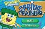 Губка Боб бейсболист игра (Game SpongeBob Spring Training)