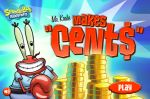 ����� ��� ���� ������� ������ ����� (Game SpongeBob Mr. Krabs Makes Cents)