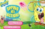 Игра Спанч Боб ловит медуз (Spring Into Action SpongeBob games)