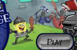Игра Приключения Спанч Боба рыцаря (Game Castle Challenge)