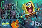 Губка Боб игра прыжки по кораллам (Game SpongeBob Coral Climb)