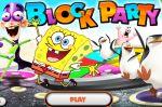 Спанч Боб настольная флешь игра (Game SpongeBob Block Party)