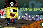 ���� ����� ��� vs ����� (Game SpongeBob SquarePants: Zombiepond)