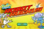 ���� ��� ����� � ����� vs ������ (Game SpongeBob Robot Ruckus)