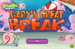 Игра Спанч Бобка Великий Гэри (Game SpongeBob Gary's Great Break)