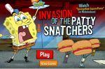 Игра Спанч Боб защита башнями (Game SpongeBob Invasion of the Patty Snatche ...