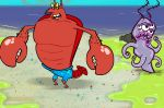        (Game SpongeBob Beach Larry)