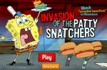 ���� ����� ��� ������� ������ (Invasion Patty Snatchers SpongeBob Game)