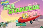 ���� ����� ��� �������� �� ������� (Sea Stampede SpongeBob Game)