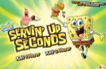 Губка Боб игра закинь еду на поднос Патрику (Servin' Up Seconds SpongeBob  ...